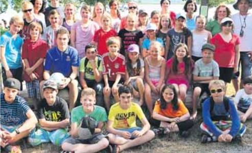 Ferienfreizeit für Kinder mit Diabetes im Wochenblatt