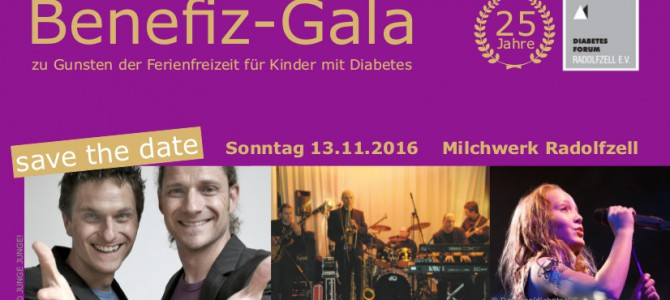 Benefizgala des Diabetes Forum Radolfzell