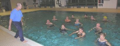 Wassergymnastik – die ideale Trainingsform